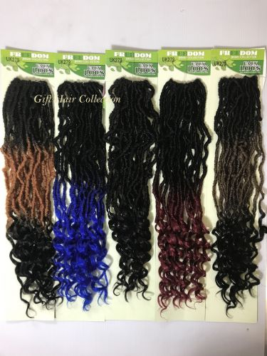 Freedom Faux Cro- Curl  dredLocks Pre- Looped Crochet Hair - 20 inches